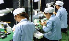 安定した供給を可能にする生産体制