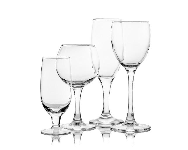 ガラス製品の寸法計測